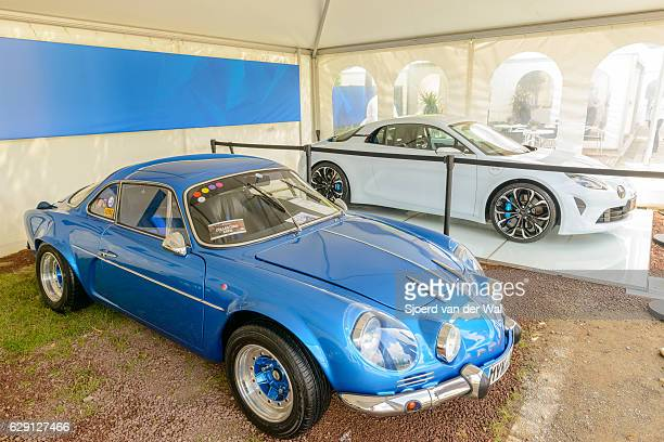 "alpine a110 and alpine vision renault 2017 sports car - ""sjoerd van der wal"" imagens e fotografias de stock"