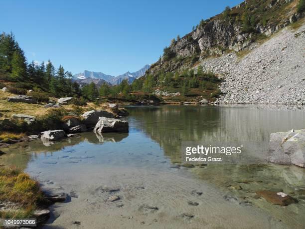Alpine Lake Lago di Agro In The High Bognanco Valley