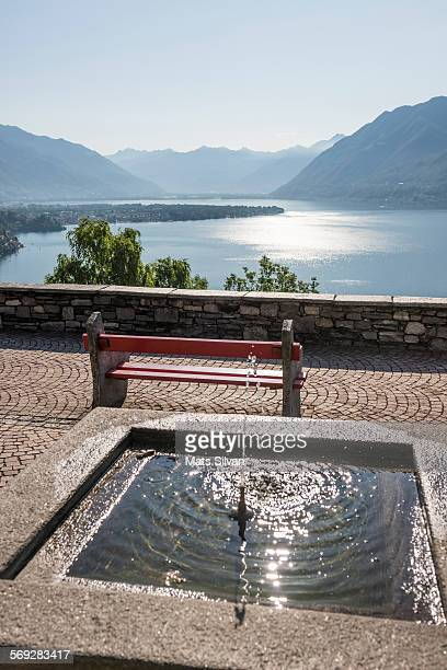 alpine lake - ascona stock pictures, royalty-free photos & images