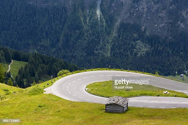 Alpine landscape, High Tauern, views from Grossglockner high alpine road, Austria