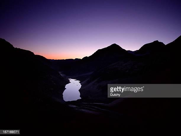 Landschaft der Alpen, Schweiz.