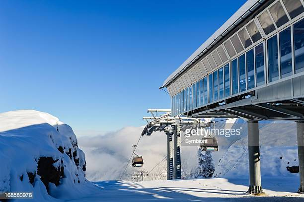 Alpine Mountain Cable Car