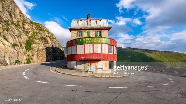 Alpine Pass Road, Switzerland, Europe