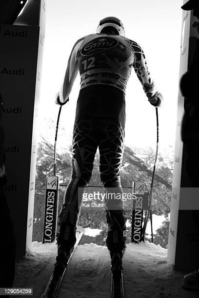 Alpine race skier Bode Miller is photographed on December 21 2010 in Solden Austria