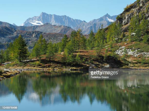 Alpine Reflections at Lago di Agro In The High Bognanco Valley