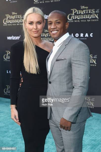 "Alpine ski racer Lindsey Vonn and Kenan Smith at the Premiere of Disney's and Jerry Bruckheimer Films' ""Pirates of the Caribbean Dead Men Tell No..."