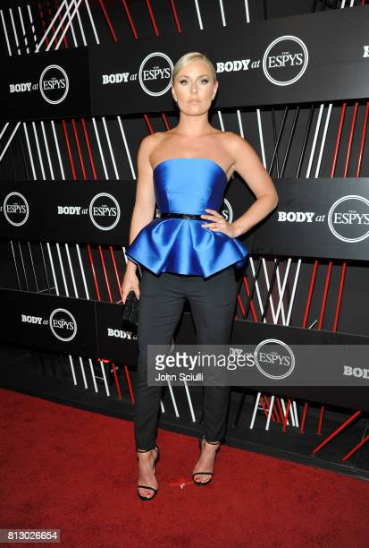 Alpine Ski Racer Lindsey Vonn at BODY at ESPYS at Avalon on July 11 2017 in Hollywood California