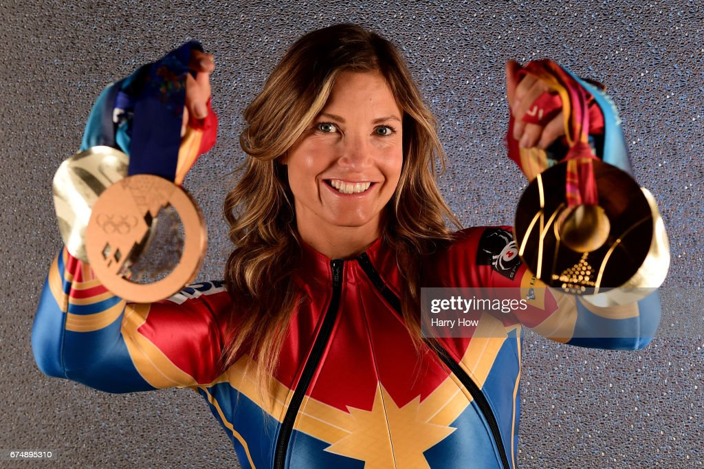 Alpine skier Julia Mancuso poses for a portrait during the Team USA PyeongChang 2018 Winter Olympics portraits on April 29, 2017 in West Hollywood, California.