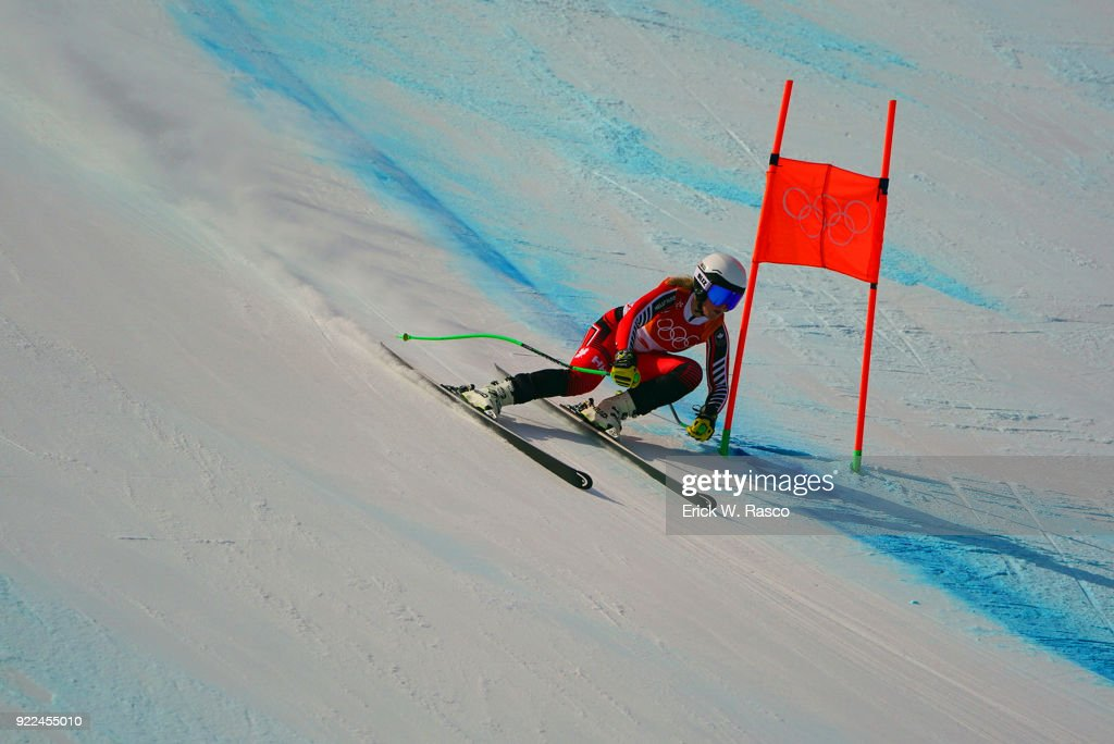 2018 Winter Olympics - Day 12 : Nachrichtenfoto
