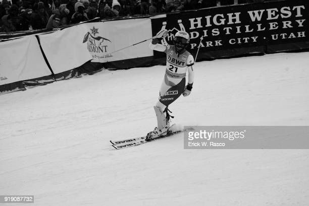 FIS World Cup Switzerland Denise Feierabend victorious after Women's Giant Slalom at Killington Ski Resort Killington VT CREDIT Erick W Rasco