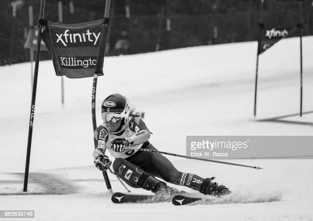 FIS World Cup USA Mikaela Shiffrin in action during Women's Giant Slalom at Killington Ski Resort Killington VT CREDIT Erick W Rasco