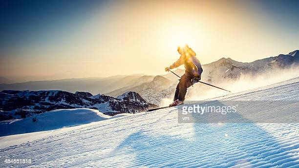 ski alpin - wintersport stock-fotos und bilder
