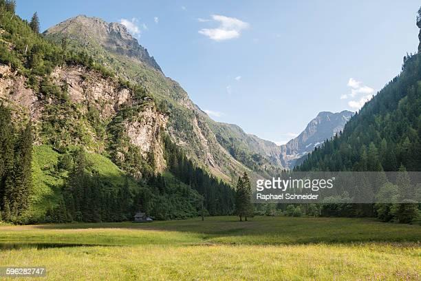 Alpine valley, Schladminger Tauern, Austria