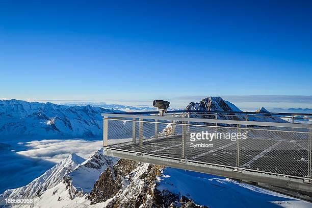 Alpine Blick auf die Umgebung