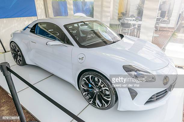 "alpine vision renault 2017 sports car - ""sjoerd van der wal"" stock pictures, royalty-free photos & images"