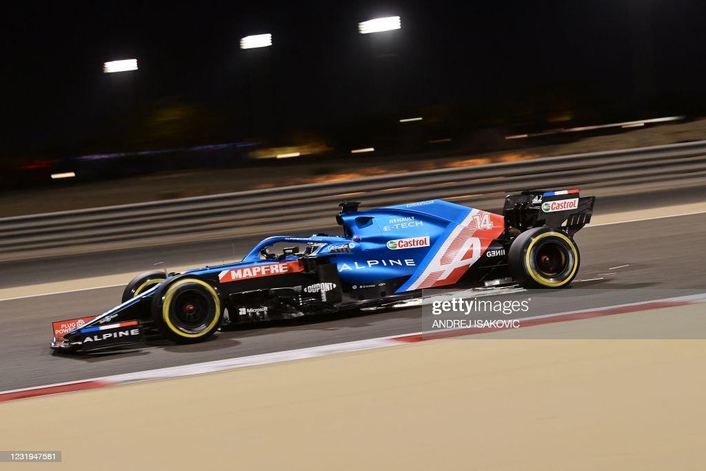 AUTO-PRIX-F1-BAHRAIN-PRACTICE : News Photo