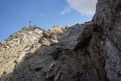 'Alps, Karwendel Mountains, Via ferrata'