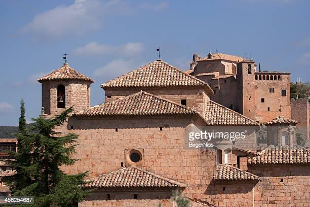 Alquézar iglesia y castillo
