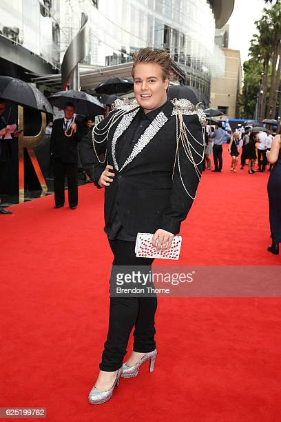 Alright Hey arrives for the 30th Annual ARIA Awards 2016 at The Star on November 23 2016 in Sydney Australia