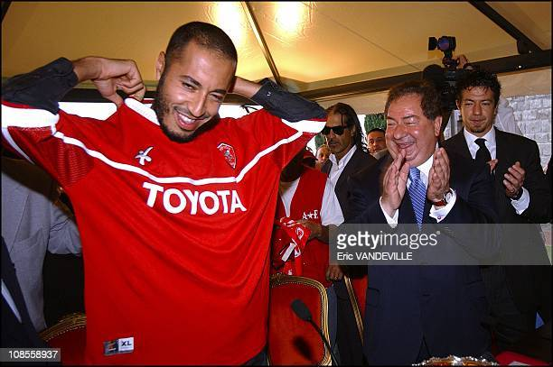 AlSaadi Gaddafi has signed a twoyear contract with this italian serie A side soccer club he is captain of his nation's soccer team Right Perugia's...