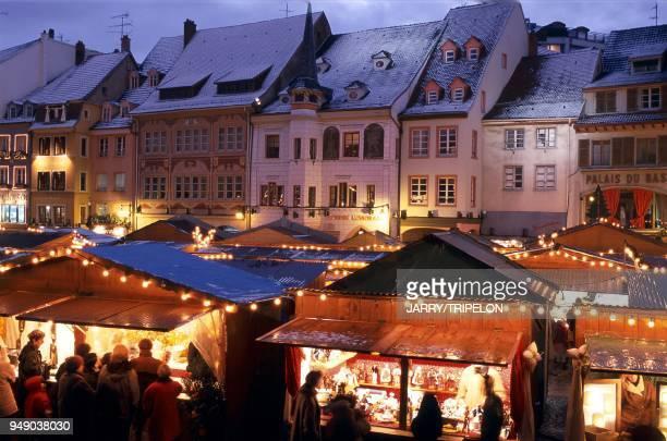 HautRhin The Mulhouse Christmas market Alsace HautRhin le marché de Noël de Mulhouse