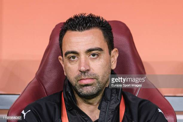 Al-Sadd Head Coach Xavier Hernandez during the FIFA Club World Cup 5th place match between Al-Sadd Sports Club and Esperance Sportive de Tunis at...