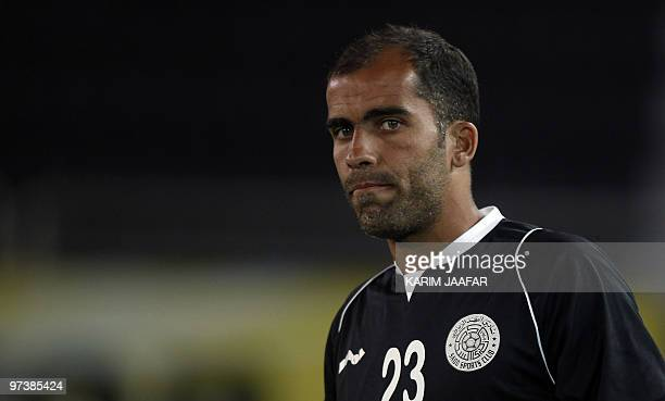AlSadd's player Felipe Jorge of Brazil attends a training session with his team in Doha on February 22 2010 in preparation for their AFC Champions...