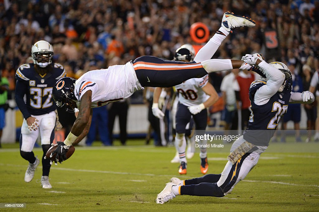 Chicago Bears v San Diego Chargers : News Photo