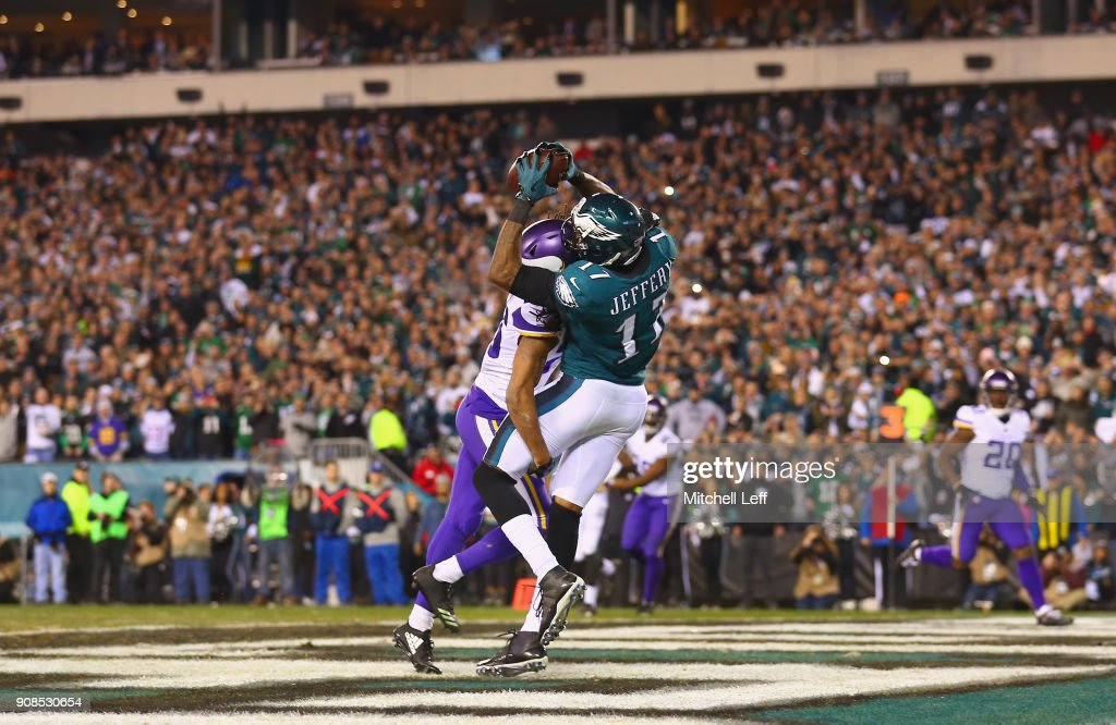 NFC Championship - Minnesota Vikings v Philadelphia Eagles : News Photo