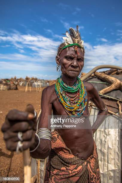 Also known as the Galeb or Geleb, this tribe lives just north of Kenya's Lake Turkana. Their neighboring tribe is the Turkana people. Cattle are used...