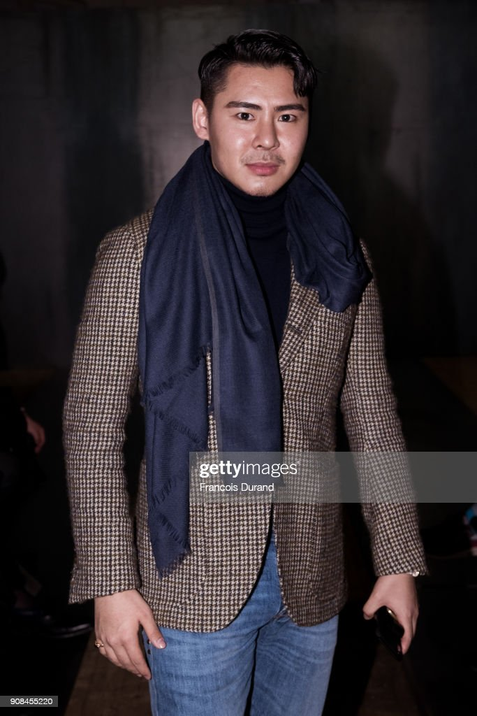 Dunhill London : Front Row - Paris Fashion Week - Menswear F/W 2018-2019