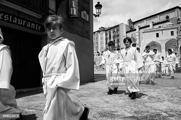 Altar boys in Spain