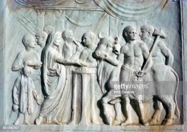 ウェスパシアヌス神殿 ストック...