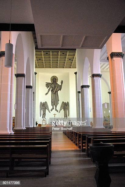 Altar Katholische Kirche St Peter und Paul Eschweiler NordrheinWestfalen Deutschland Europa innen Reise BB DIG PNr 1026/2011