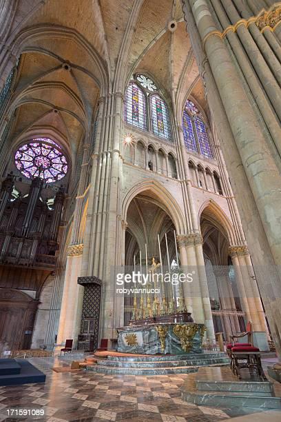 Altar de la catedral de Notre-Dame de Reims, Francia