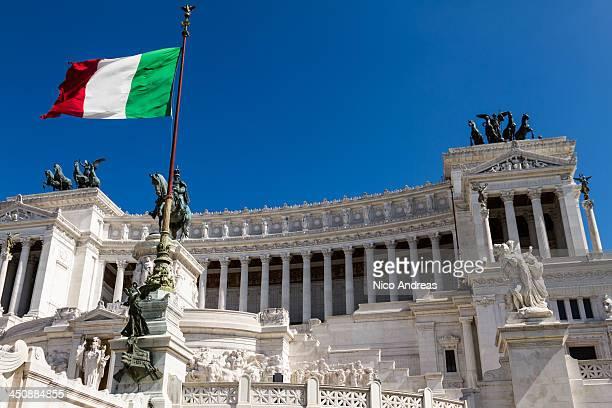altare della patria, italy - altare della patria stock pictures, royalty-free photos & images