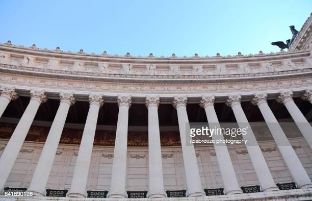 altare della patria monument - altare della patria stock pictures, royalty-free photos & images