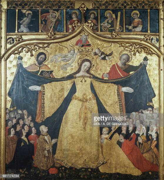 Altarpiece of Our Lady of Mercy 14981499 by Hans Clemer Cavassa House Saluzzo Piedmont Italy 15th century