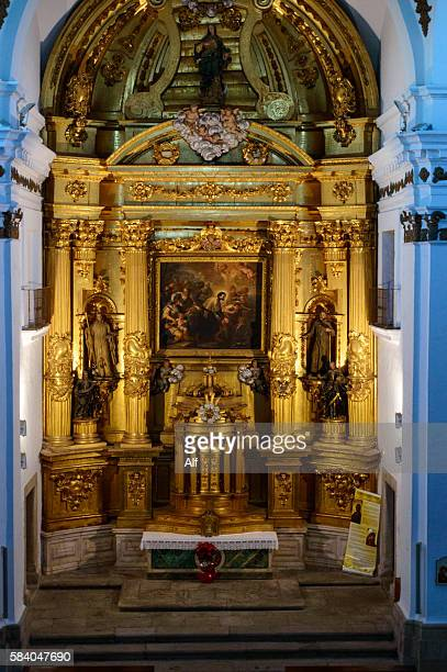 Altarpiece of the Church of San Francisco Javier Caceres , XVIII century