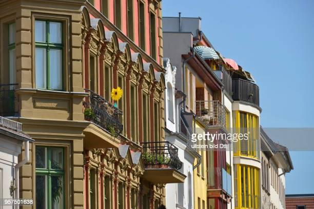 Altbaufassaden, Gruenstrasse, Koepenick, Berlin, Deutschland / Köpenick