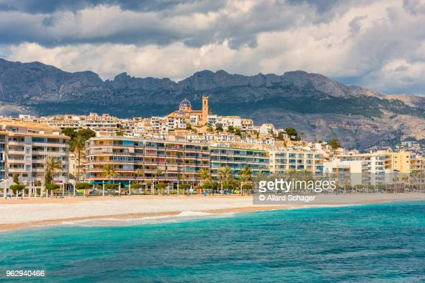 altea spain - alicante stock pictures, royalty-free photos & images