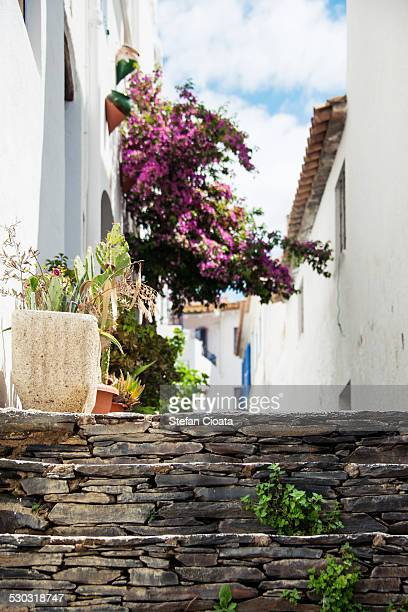 Altea streets in summer