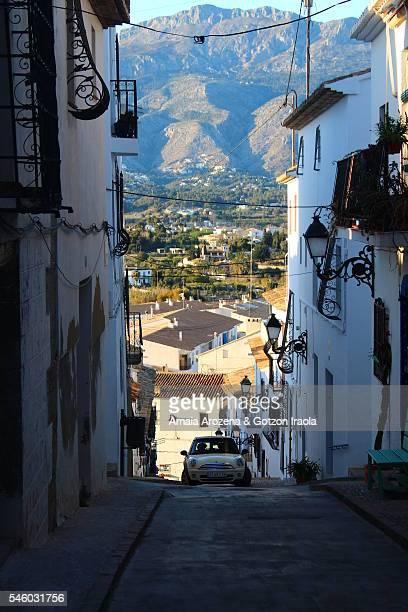 Altea village in Spain
