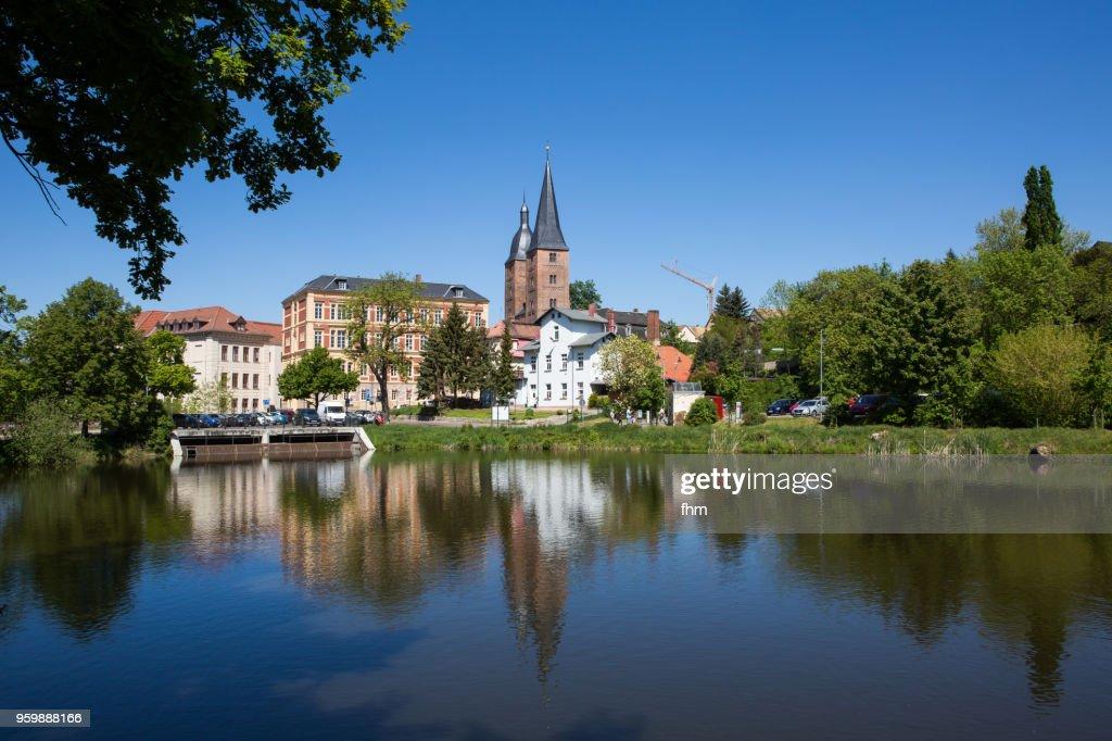 Altenburg Skyline (Thuringia/ Germany) : Stock-Foto