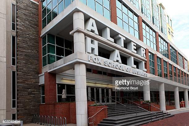 Alter Hall at Temple University in Philadelphia, Pennsylvania on August 27, 2016.