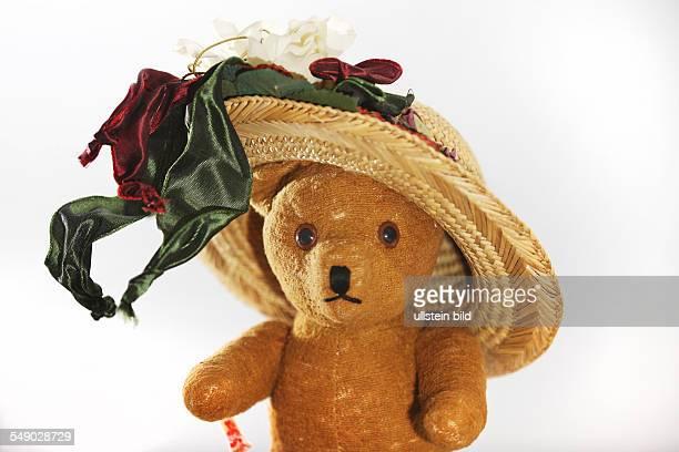 Alter Teddybaer der Deutschen Marke Clemens