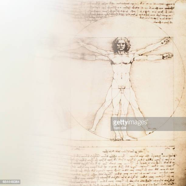 altered version of leonardo da vinci's work - leonardo da vinci stock-fotos und bilder