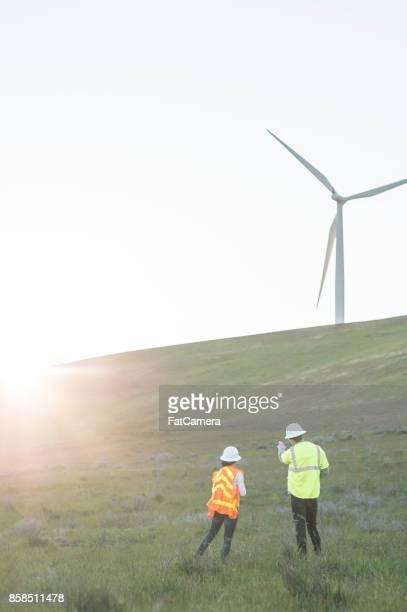 Alternativ energi - wind farm inspektion