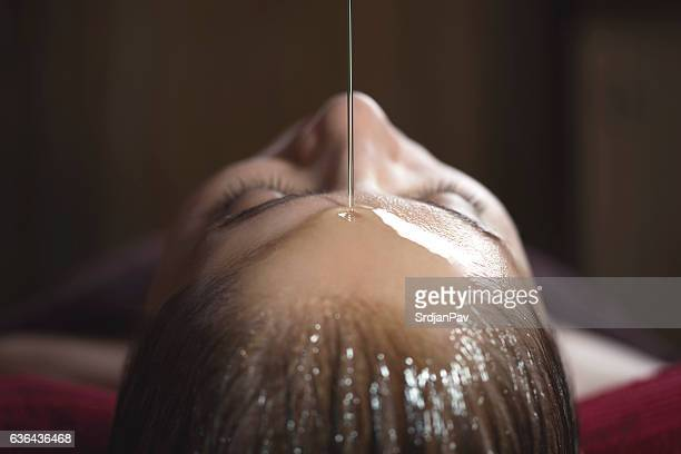 alternative medicine - body massage stock photos and pictures