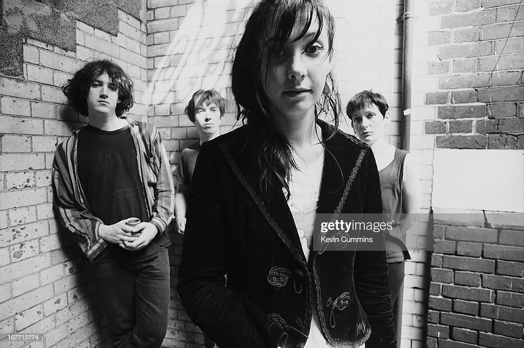 Alternative Rock Band My Bloody Valentine In London, August 1988. From Left  To Right
